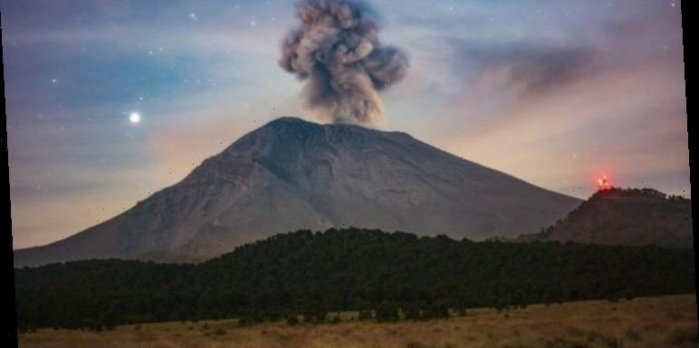 Volcano eruption: Watch live as Mexico's Popo volcano shows signs of 'explosive activity'