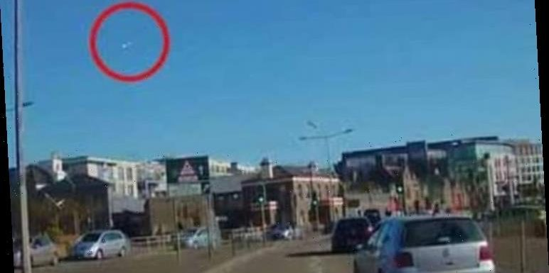 'Sonic boom' caused by 'meteor' stuns South West England – object filmed in sky