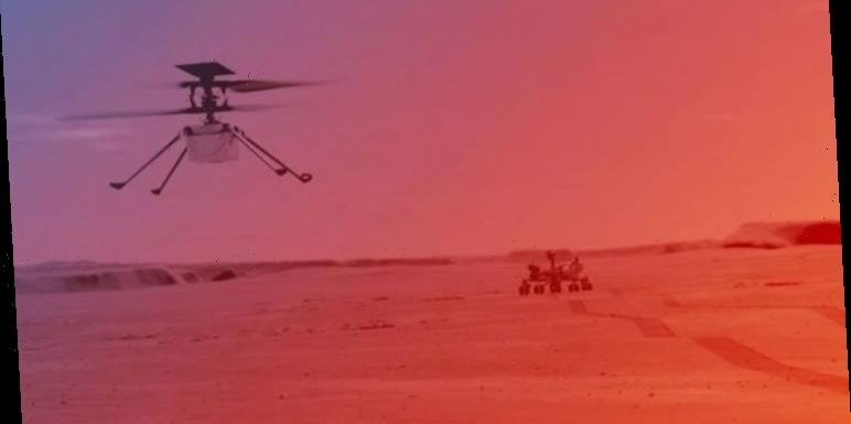 NASA's Perseverance prepares to launch helicopter from Martian surface