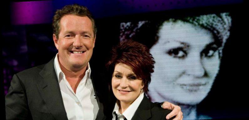 Piers Morgan blasts 'disgusting' trolls sending Sharon Osbourne death threats