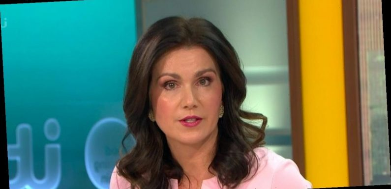 Emotional Susanna Reid close to tears as she speaks on Piers Morgan quitting GMB