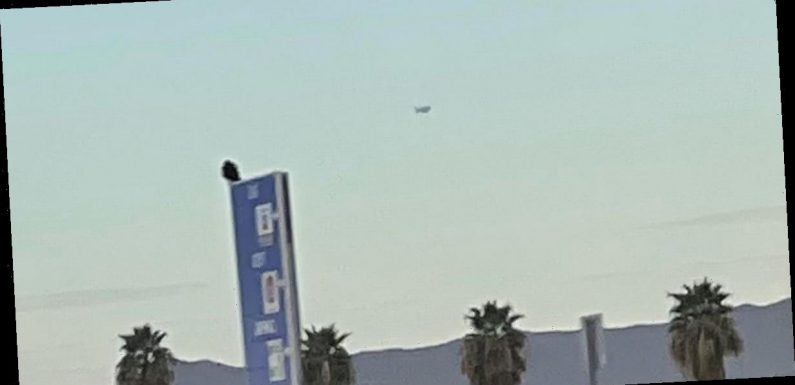 'Truck-sized' UFO seen hovering in the sky for over an hour above Arizona desert