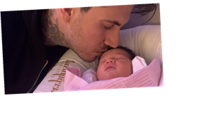 Love Island's Terry Walsh and fiancée Danielle welcome baby girl together and announce adorable name
