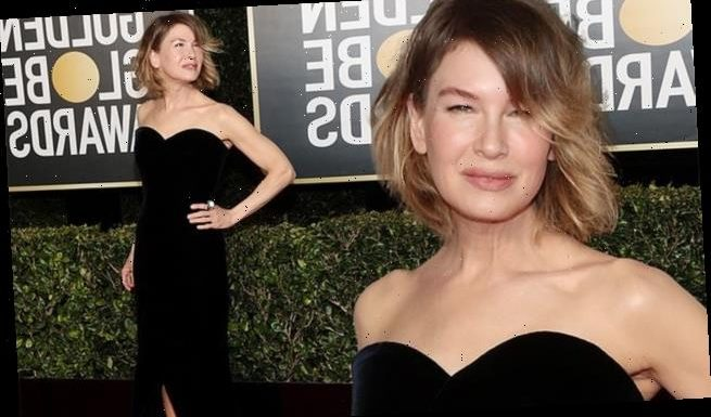 Renee Zellweger exudes pure Hollywood glamor at the Golden Globes