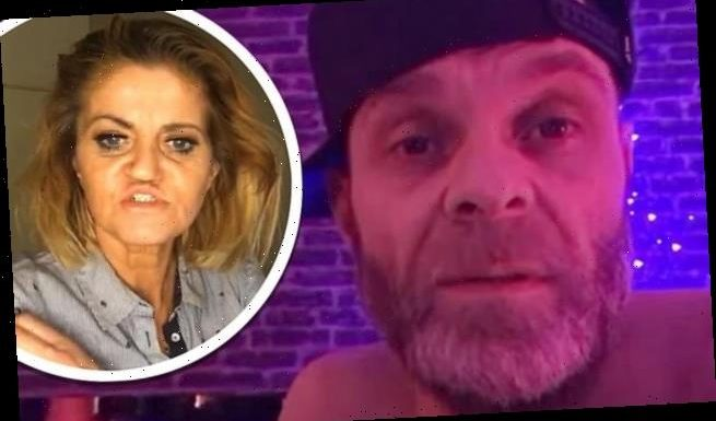 Brian Harvey claims police arrived at his home for a 'welfare check'