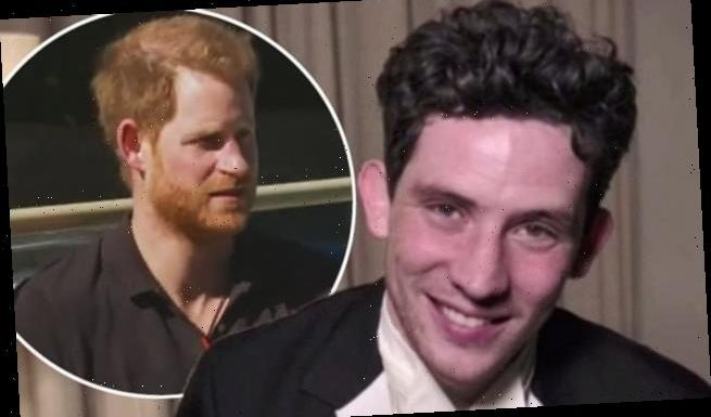 The Crown's Josh O'Connor is 'delighted' Prince Harry watches the show