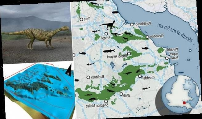 New map reveals details British dinosaurs on small tropical islands