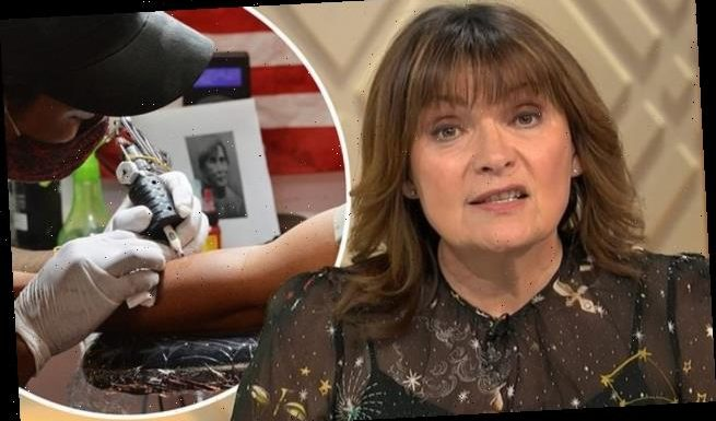 Lorraine Kelly thought about getting a tattoo on her BOTTOM