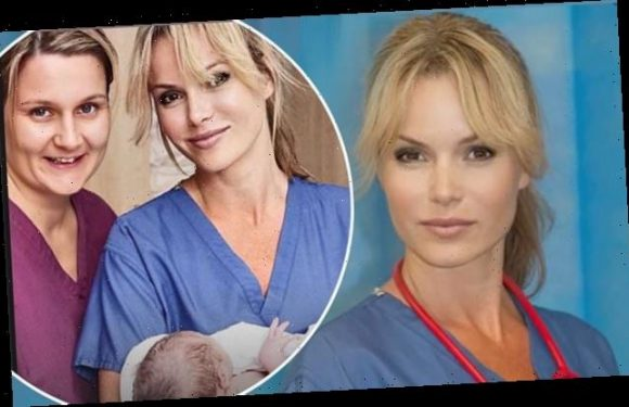 Amanda Holden slams government plan for NHS nurses' wages