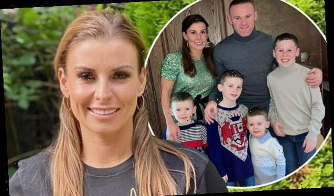 Coleen Rooney admits she found homeschooling her sons 'tough'