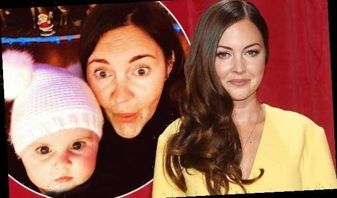 EastEnders' Lacey Turner reveals she's named her baby boy Trilby Fox