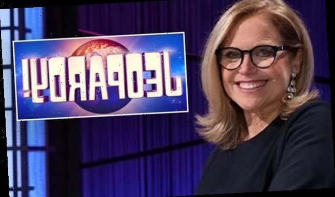 Katie Couric makes TV history as first female host of Jeopardy!