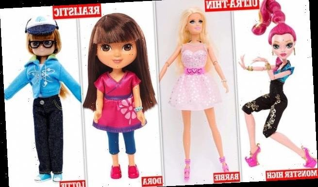 Dolls can make girls as young as five 'want a slimmer body'