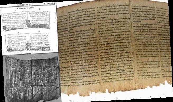 Shapira Scroll: Ancient manuscript may be oldest known Biblical script