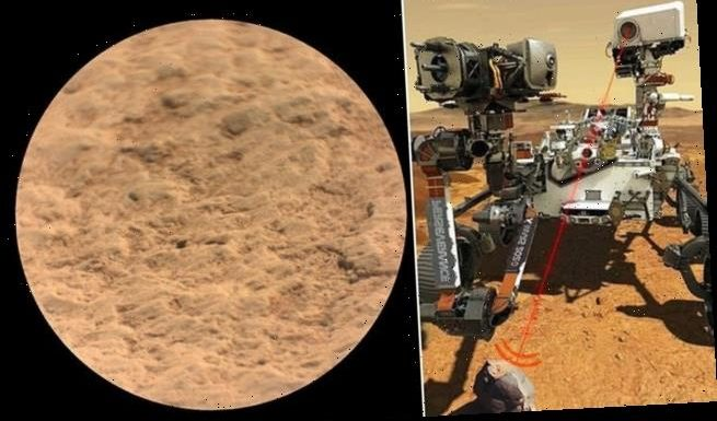 NASA shares first recording of Perseverance firing its laser on Mars