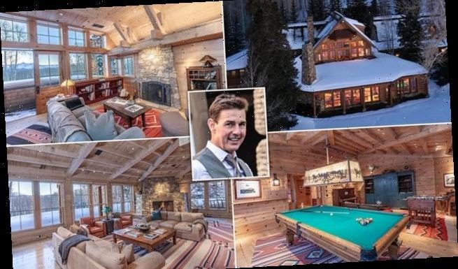 Tom Cruise places his rustic Colorado ranch on the market for $39.5M