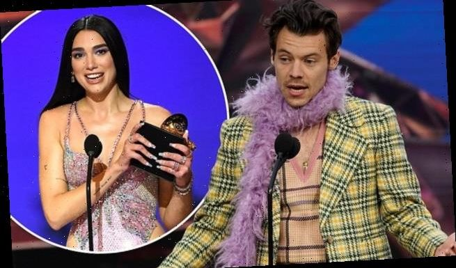 Harry Styles and Dua Lipa lead the Brit winners at the Grammy Awards