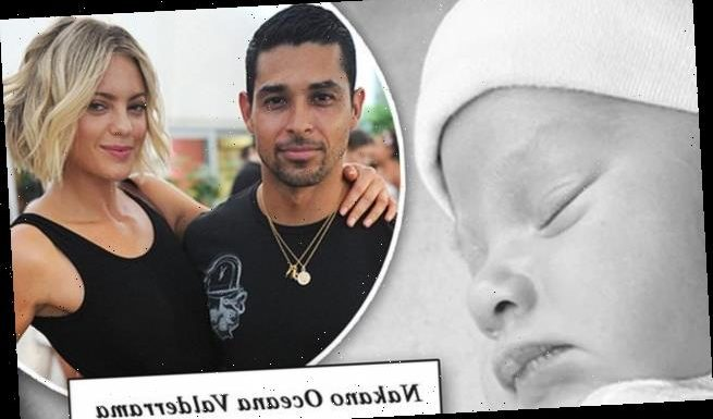 Wilmer Valderrama reveals his newborn daughter's name is Nakano