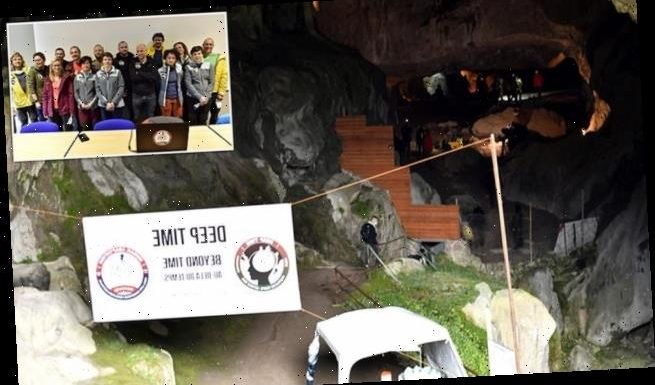 Experiment has people kept in a cave for 40 days with no sense of time