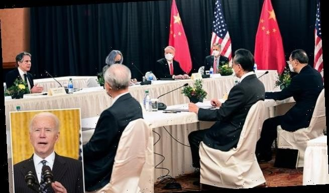 'There is no way to strangle China': Talks get off to a bad start