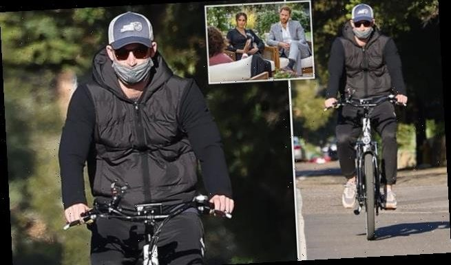 Prince Harry seen for the first time since explosive Oprah interview
