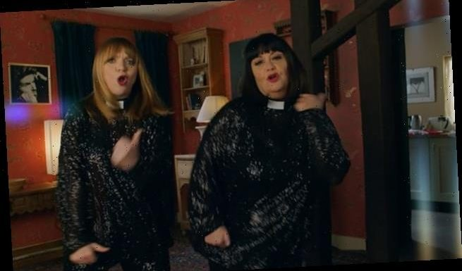 Comic Relief viewers hail return of Dawn French as the Vicar of Dibley