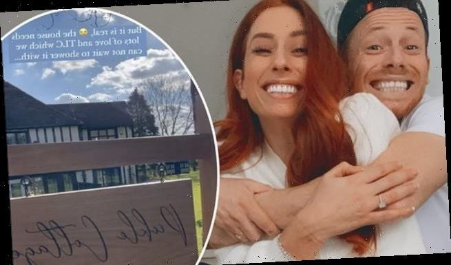 Stacey Solomon and fiancé Joe Swash have found their 'forever home'