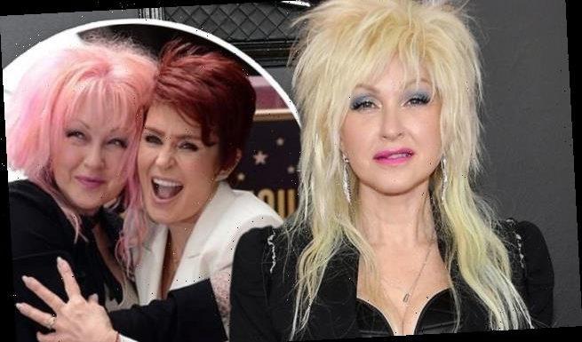Cyndi Lauper DEFENDS Sharon Osbourne following racism row on The Talk