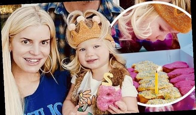 Jessica Simpson's daughter Birdie turns two years old