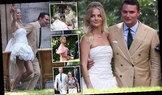 Socialite Nadia Fairfax marries partner Michael Wayne in Sydney