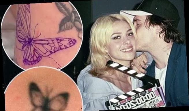 Brooklyn Beckham and Nicola Peltz get matching butterfly tattoos