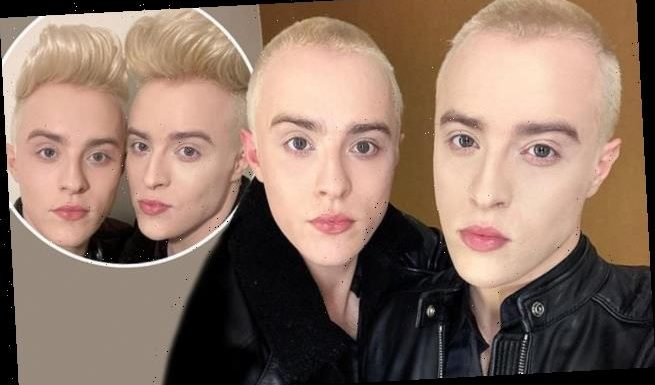 Jedward ditch their iconic quiffs as they shave their heads