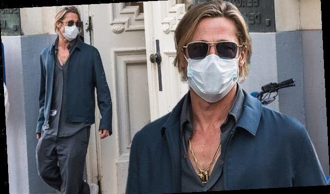 Brad Pitt steps out inBrussels amid divorce battlewith ex Angelina