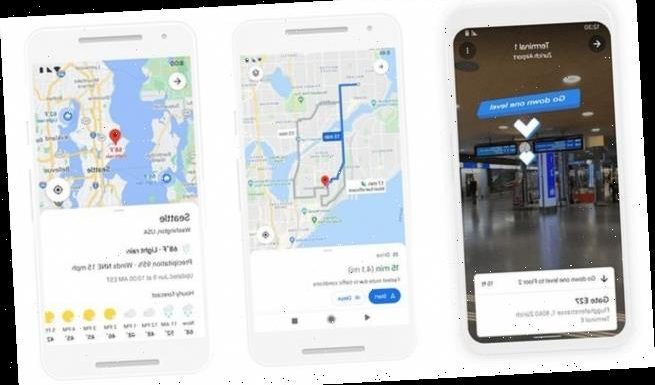 Google Maps moves indoors with a new update to Live View in the app