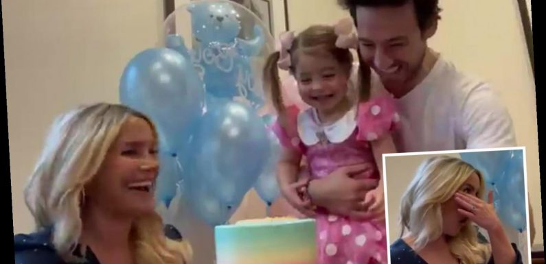 Sugababes star Heidi Range breaks down in tears as she finds out she's having a baby girl