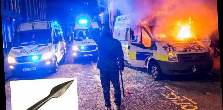 Dad joined the Bristol Kill the Bill riots armed with a sharpened homemade SPEAR