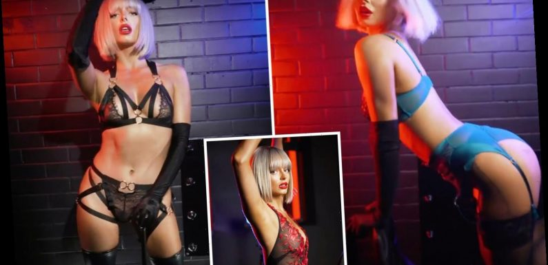 Love Island's Maura Higgins channels Christina Aguilera for very sexy lingerie shoot