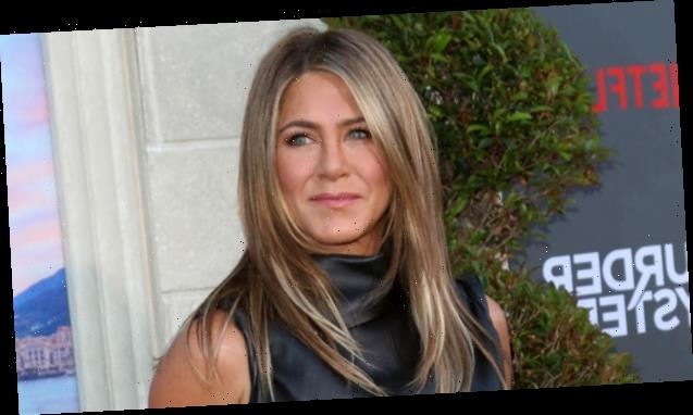 Jennifer Aniston Hits The Yoga Mat For A Workout With Her Dog Lord Chesterfield — See Pics