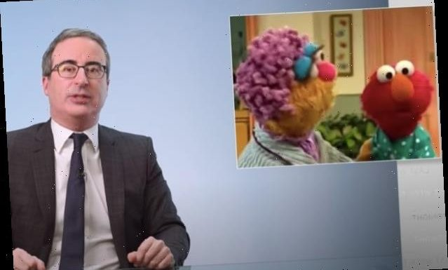 John Oliver Thinks Elmo May Be to Blame for Country's Unemployment Benefits Mess (Video)