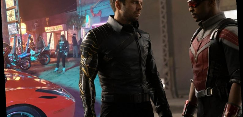 Go behind the scenes of Disney's The Falcon and the Winter Soldier with never before seen photos from the series