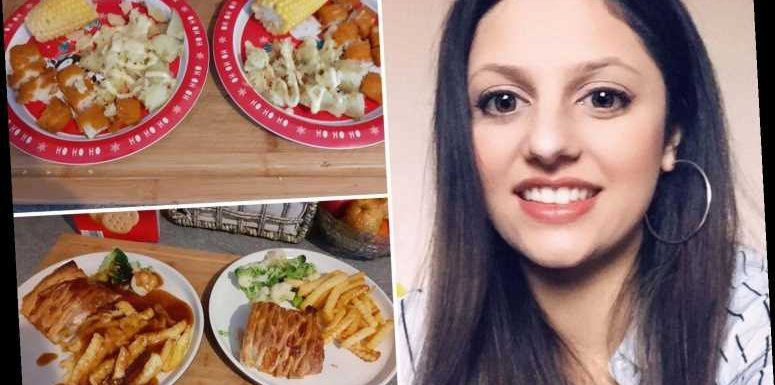 Mum-of-two shows how she feeds her whole family for just £200 a month and gives top tips to save you money too