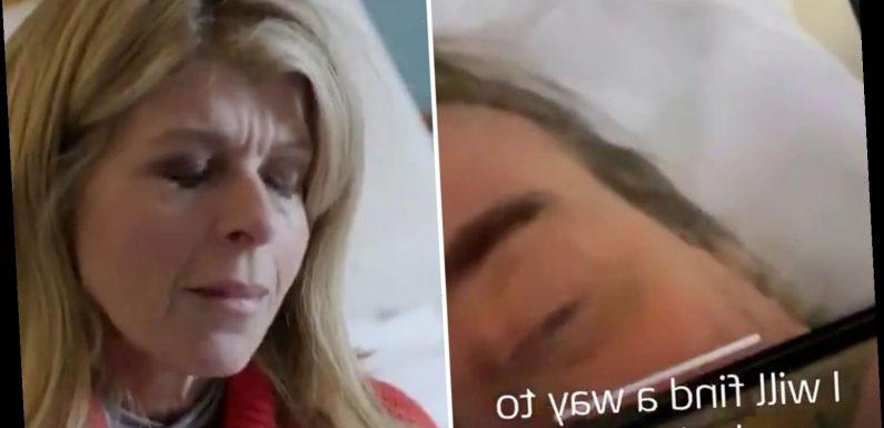 Kate Garraway vows 'I will find a way to make it better' to husband Derek Draper in heartbreaking new trailer