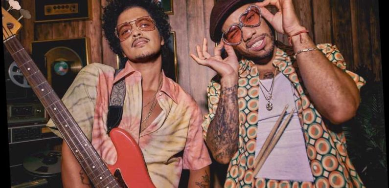 Bruno Mars, Anderson .Paak's Silk Sonic to Perform at 2021 Grammys