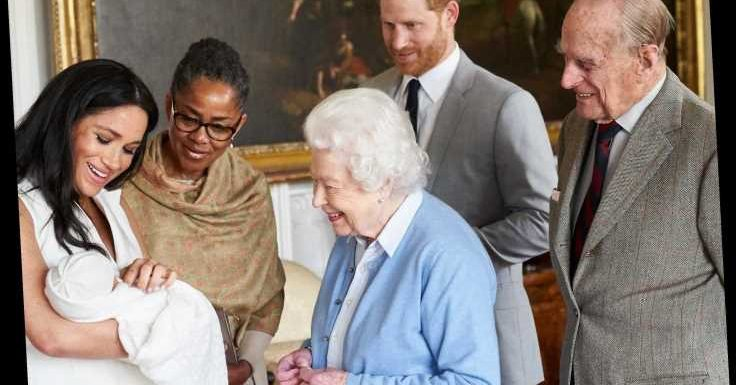 Meghan Markle, Prince Harry and Archie will 'always be much loved', says the Queen after bombshell Oprah interview