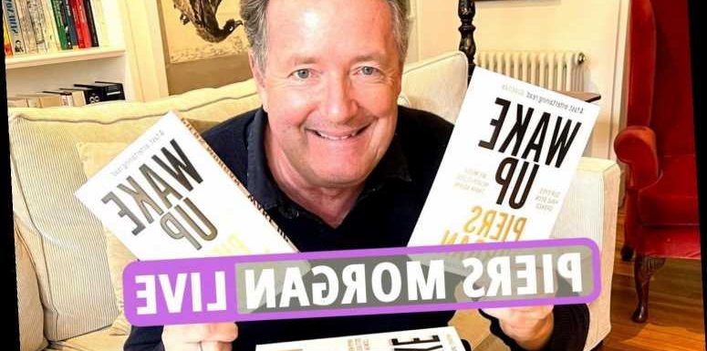 Piers Morgan news – Host rages against 'woke counter culture bulls***' on Twitter as book 'Wake Up' still top on Amazon