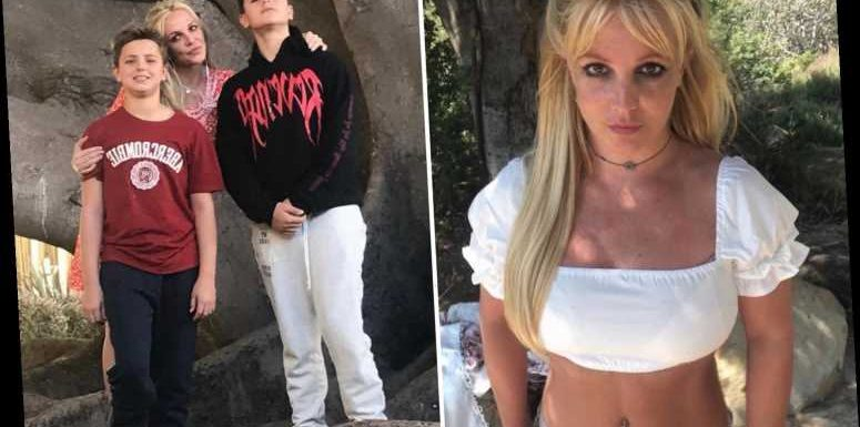 Britney Spears' sons have 'very few visits' with their mom and 'spend most of time with dad Kevin Federline or friends'