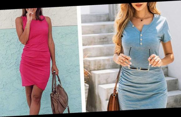 BTFBM Ruched Mini Dress Will Hug Your Figure Like No Other