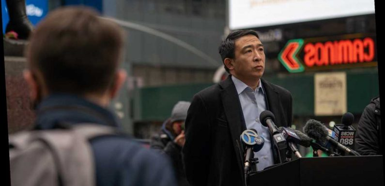Andrew Yang: Anti-Asian racism has grown ' far darker' in NYC