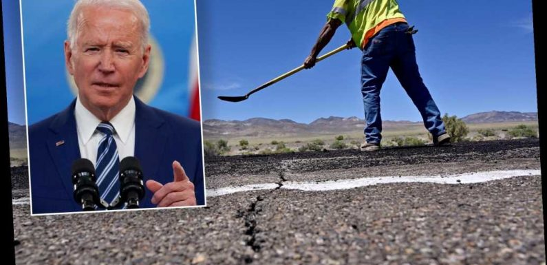 Biden to announce up to $4 trillion infrastructure plan with massive tax hikes