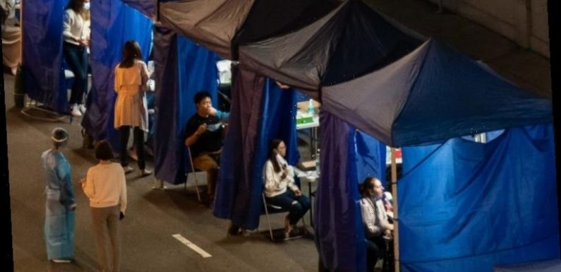 'Ambush': Families split in Hong Kong's snap lockdown of expat towers